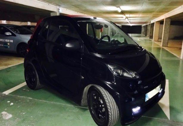 location smart cabrio 2013 paris 75002 ouicar. Black Bedroom Furniture Sets. Home Design Ideas