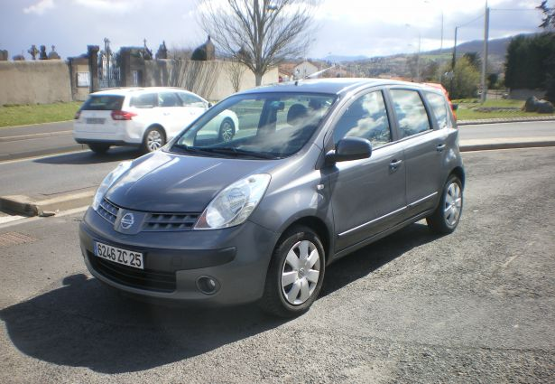 location nissan note 2006 clermont ferrand 63000 ouicar. Black Bedroom Furniture Sets. Home Design Ideas