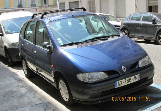 location renault scenic 1997 nice 06000 ouicar. Black Bedroom Furniture Sets. Home Design Ideas